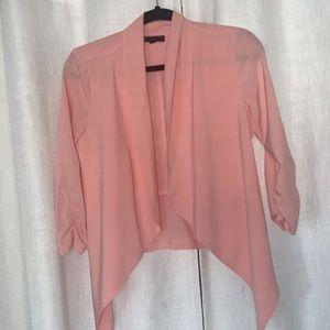 Peach lightweight blazer